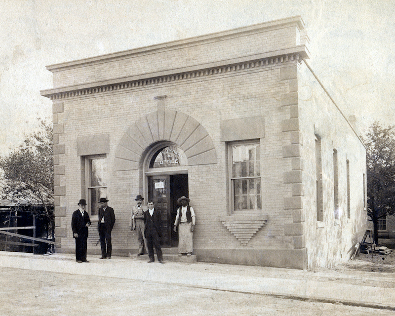 An administrative office building was constructed on the Market Street site to house the Water Works offices. Photo courtesy of Gregg Eckhardt.