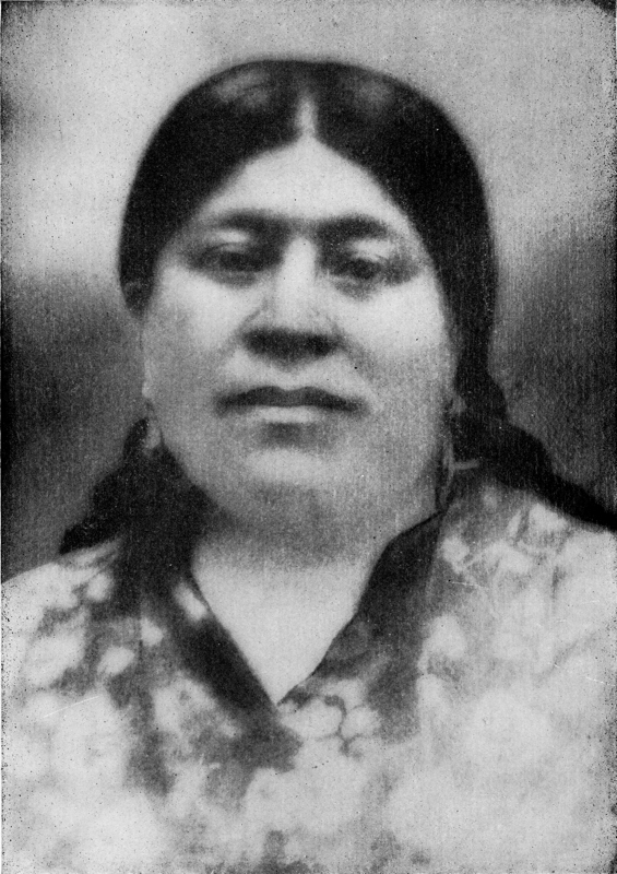 Dr. Aureliano Urrutia's mother, MarÍa del Refugio Sandoval de Urrutia, circa 1870. She was likely of Nahua descent, and died within a few years after his birth. Photo courtesy of Urrutia Photo Collection.