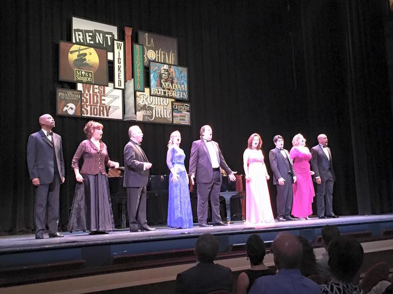 The cast of last season's Broadway vs. Opera. Photo courtesy of Opera San Antonio.