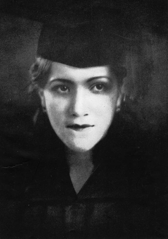 Refugio Urrutia Fernandez, circa 1935-1940. Photo courtesy of Urrutia Photo Collection.