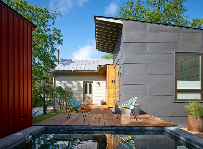 Barrera House by Candid Rogers Architect, LLC. Photo courtesy of AIA-SA.