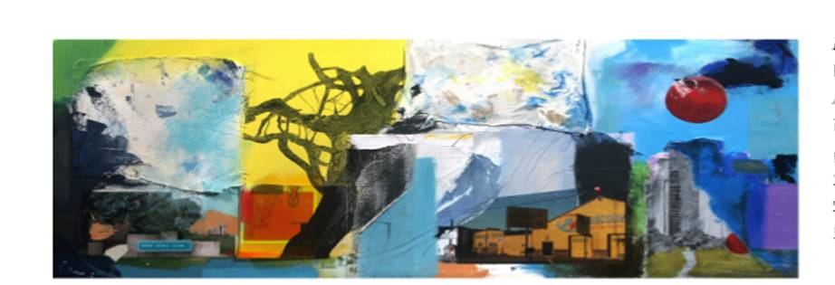 Four Landscapes by Raul Gonzalez. Image courtesy of the Ecumenical Center.