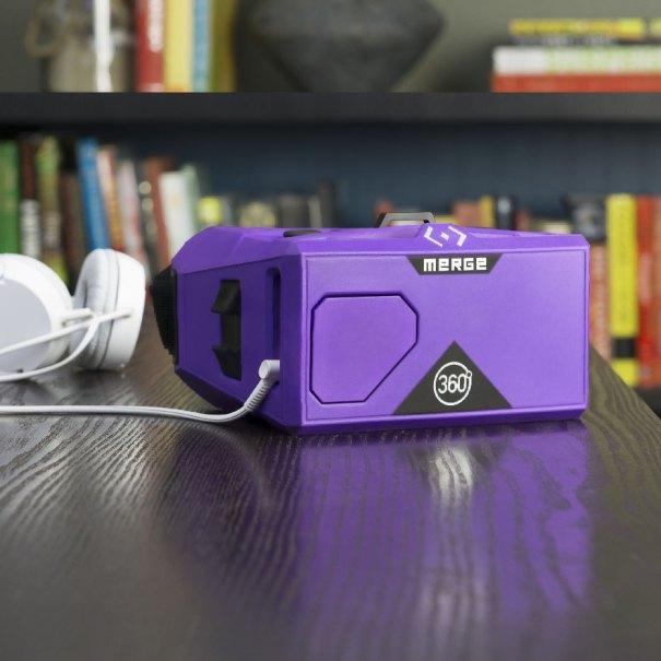 Merge VR Goggles. Photo courtesy of Merge Virtual Reality.