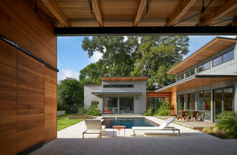 House 117 by Candid Rogers Architect, LLC. Photo courtesy of AIA-SA.