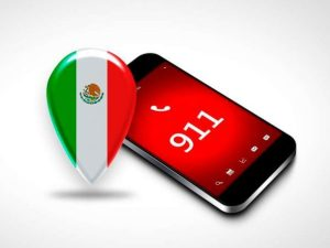 Mexico will adopt a nation-wide 911 service and promote use of the M911 app with the help of San Antonio-based tech company Conexer. Photo courtesy of PeriodicoCorreo.com.mx.