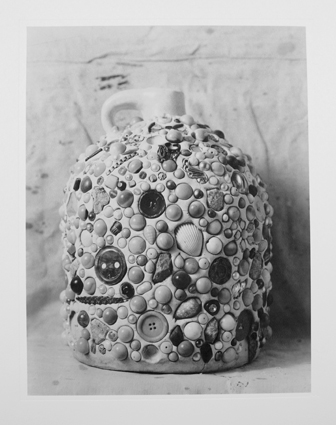 Untitled (Memory Jug), 2013, collotype on paper, 10 x 13, in., (not in exhibition). Photo courtesy of Kent Rush.