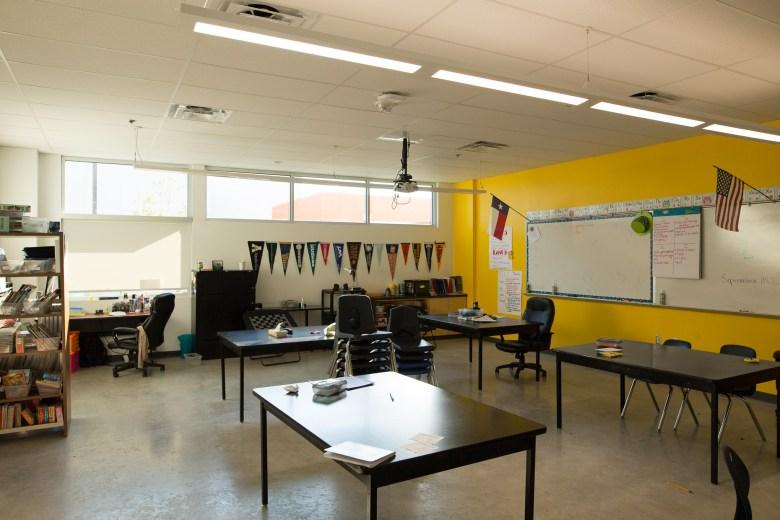 A typical classroom at KIPP Cevallos. Photo by Scott Ball.