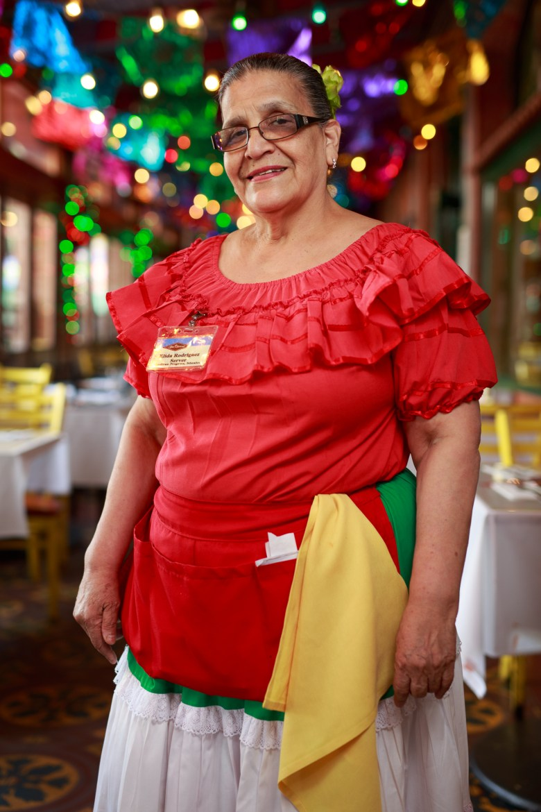 Elida Rodriguez has served 37 years at Mi Tierra. Photo by Scott Ball.