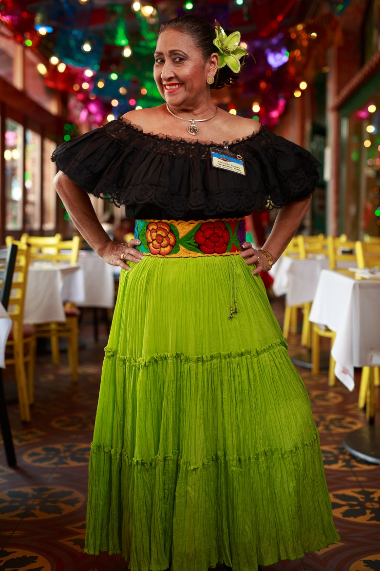 Manuela Ramos has served Mi Tierra for 35 years. Photo by Scott Ball.