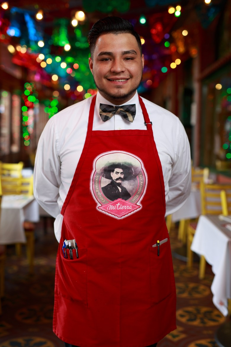 Jerrie Moreno has served Mi Tierra for four years. Photo by Scott Ball.