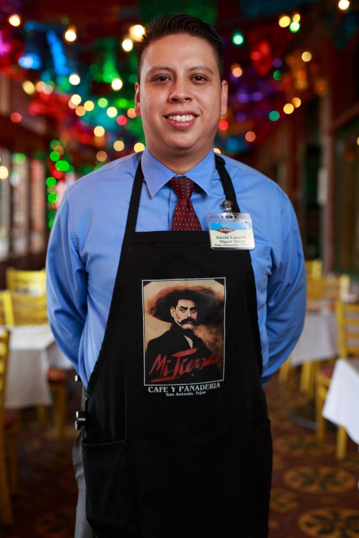 David Lizardi has served Mi Tierra for 16 years. Photo by Scott Ball.