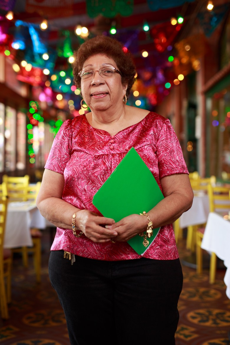 Dolores Mendez has served Mi Tierra for 35 years. Photo by Scott Ball.