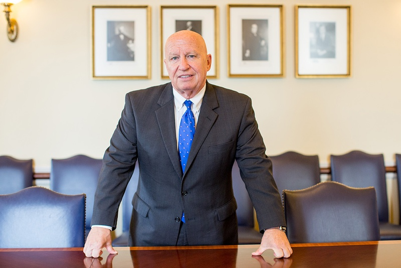 U.S. Rep. Kevin Brady, R-The Woodlands, chairman of the House Ways and Means Committee, in his office in the U.S. Capitol building in Washington, D.C., September 21, 2016. Photo by Allison Shelley for the Texas Tribune.