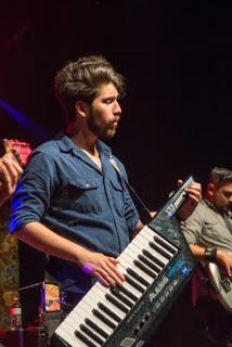 Richard Valdez performs in Eclipse: A Journey Tribute Band. Photo courtesy of Brandon Fletcher.