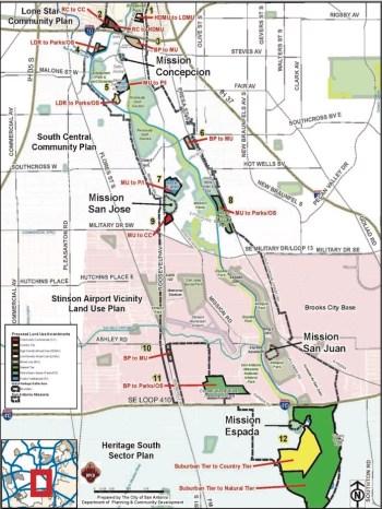 World Heritage Area Future Land Use Plan Amendments.
