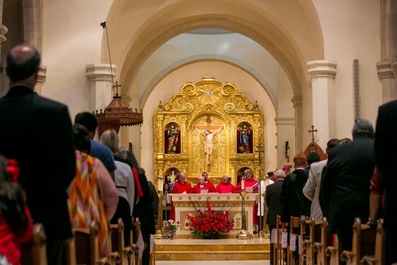 Red Mass at San Fernando Cathedral. Photo by Kathryn Boyd-Batstone.