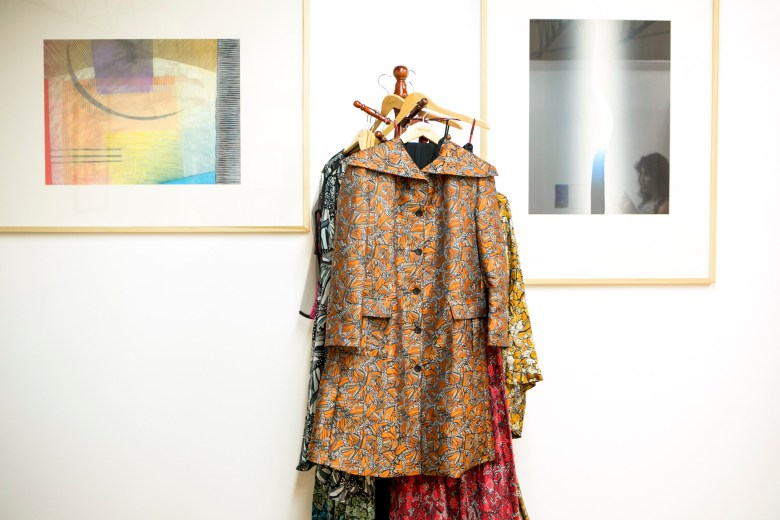 A coat by designer Pineda Covalin.