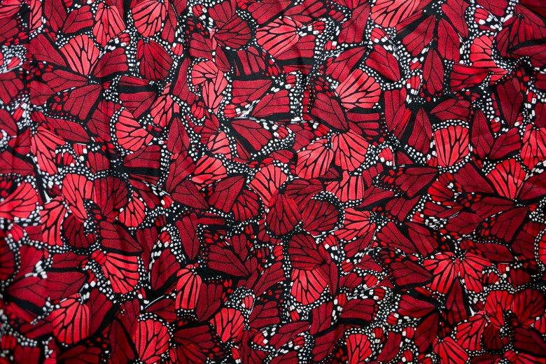 Monarch butterfly material by designer Pineda Covalin.