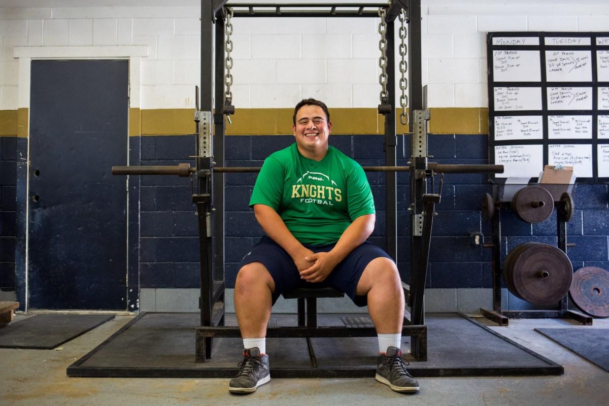 Joseph Peña is a senior at Holy Cross High School.