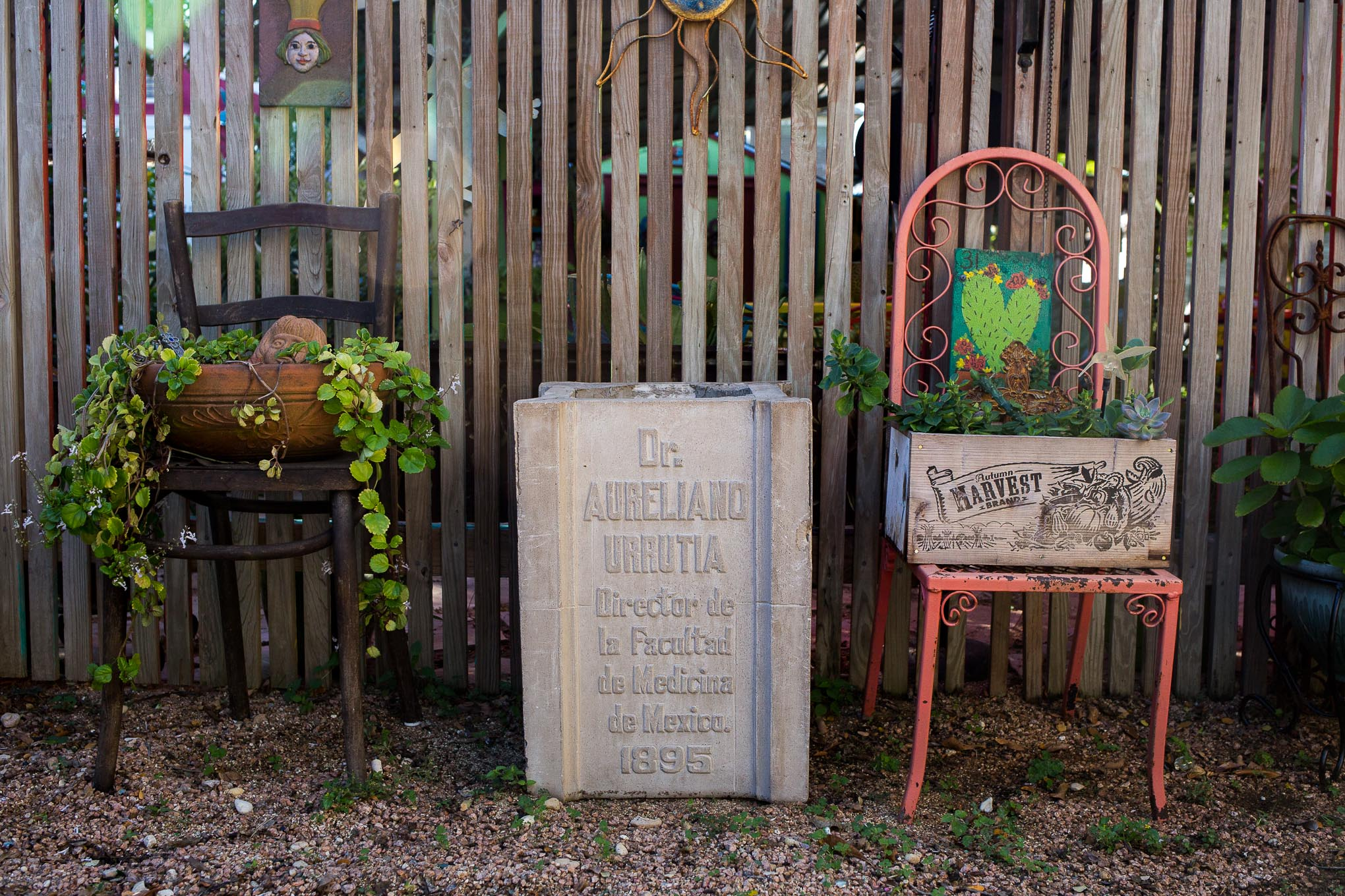Part of the pillar at Miraflores that was found in a vacant lot earlier this year.