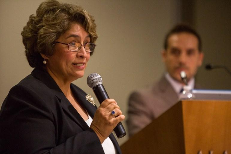 District 7 candidate Elda Flores.