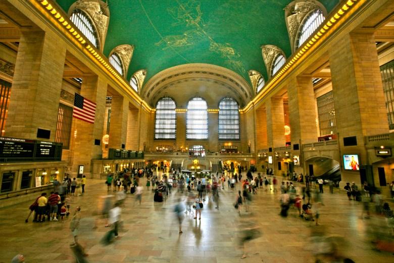 New York's Grand Central Terminal. Photo by Alex Proimos via Flickr.