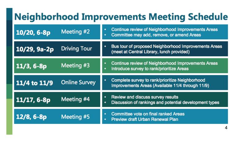 neighborhoodbondmeetingschedule