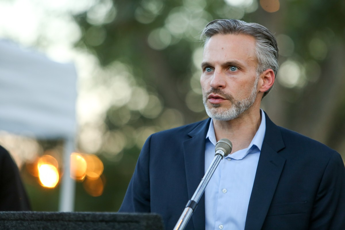 Mark Larson has resigned his post atop the education nonprofit City Education Partners.