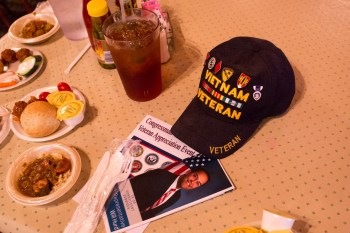 U.S. Rep. Will Hurd (R-San Antonio) hosted an event to honor local veterans.