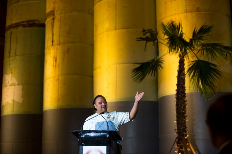 Chef Johnny Hernandez announces his two new restaurants Villa Rica and Burger Teca.