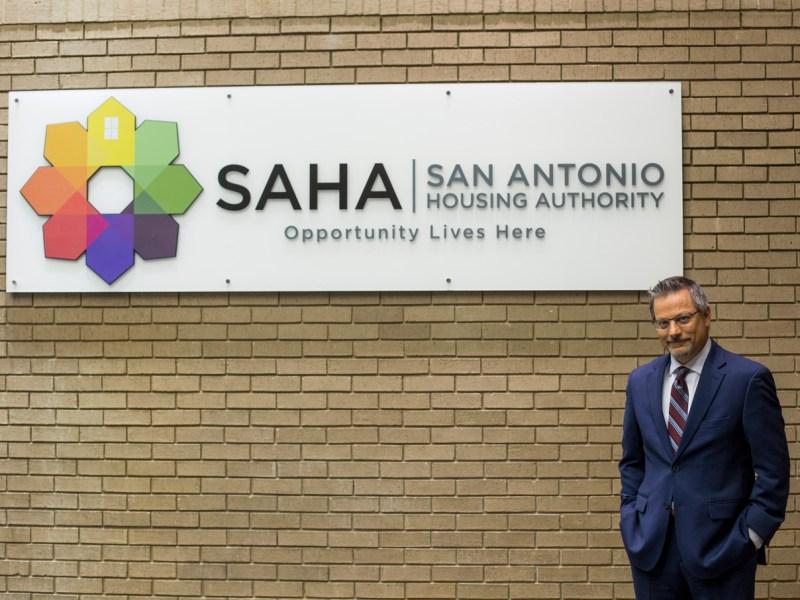 David Nisivoccia, president and CEO of the San Antonio Housing Authority.