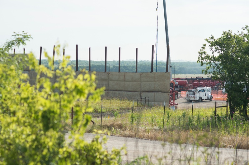 Vantage Energy on June 1, 2015 resumed hydraulic operations on a pad site on the western outskirts of Denton. It was the first company to frack within city limits after the Texas Legislature overturned the Denton's ban on the process.
