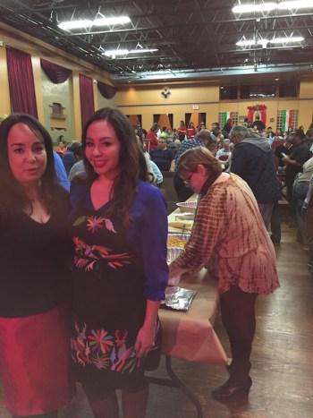 Guadalupe Cultural Arts Executive Director Cristina Ballí with Cariño Cortez.