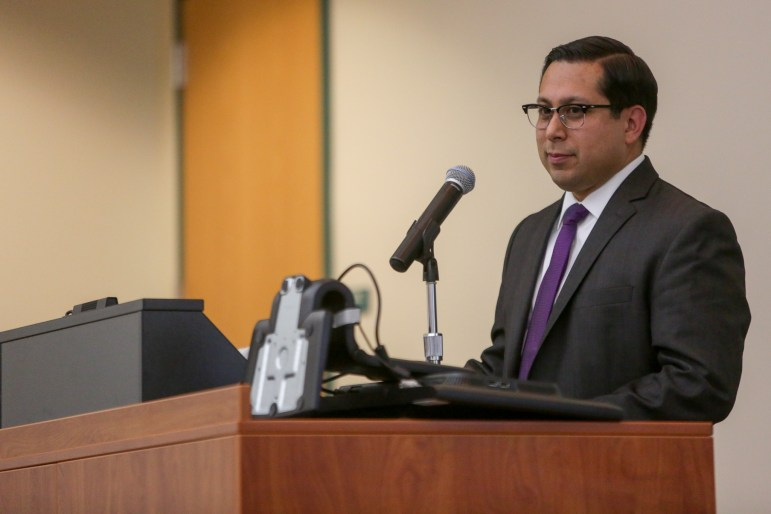 State Rep. Diego Bernal (D-123) hosts the event at UTSA Downtown.