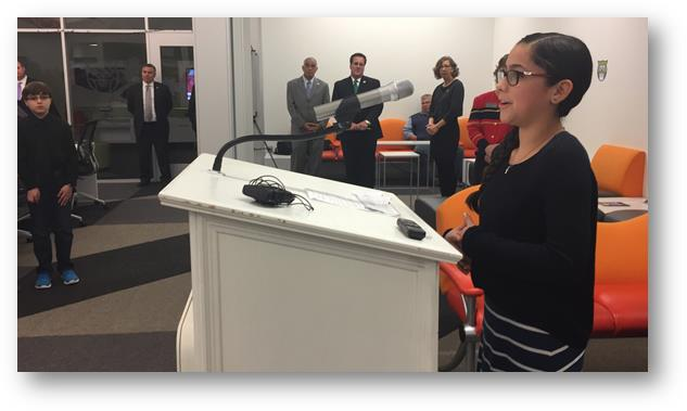 Andrea Connor, 7th Grade Student from Lopez Middle School, shares why Computer Science is important to her.
