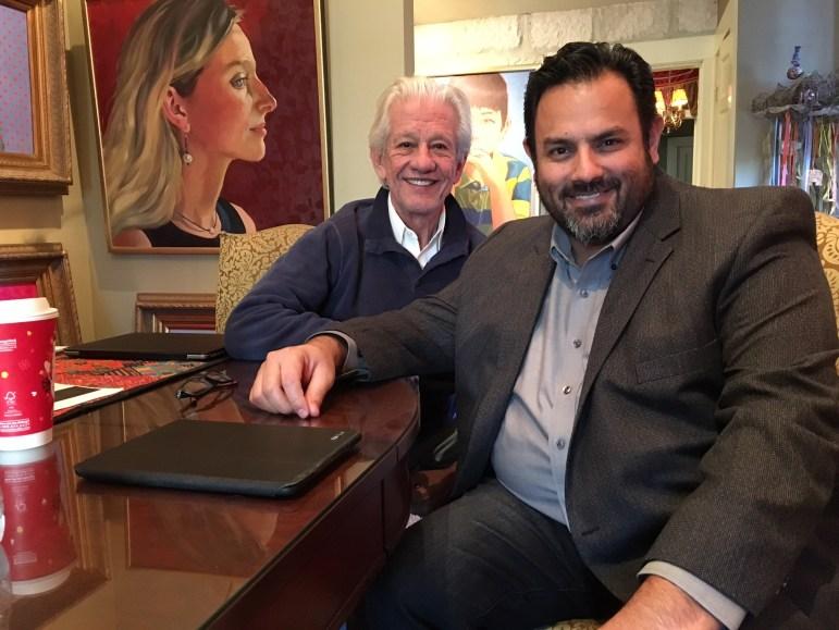 Lionel Sosa (l) and John Andrade.