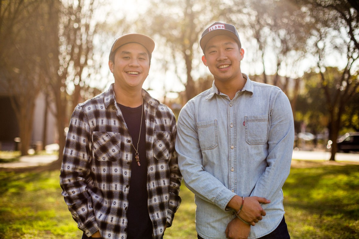 From left: Andrew Ho and Sean Wen are the co-founders of Pinch Boil House and Bia Bar, a Southeast Asian-inspired seafood and crawfish restaurant.