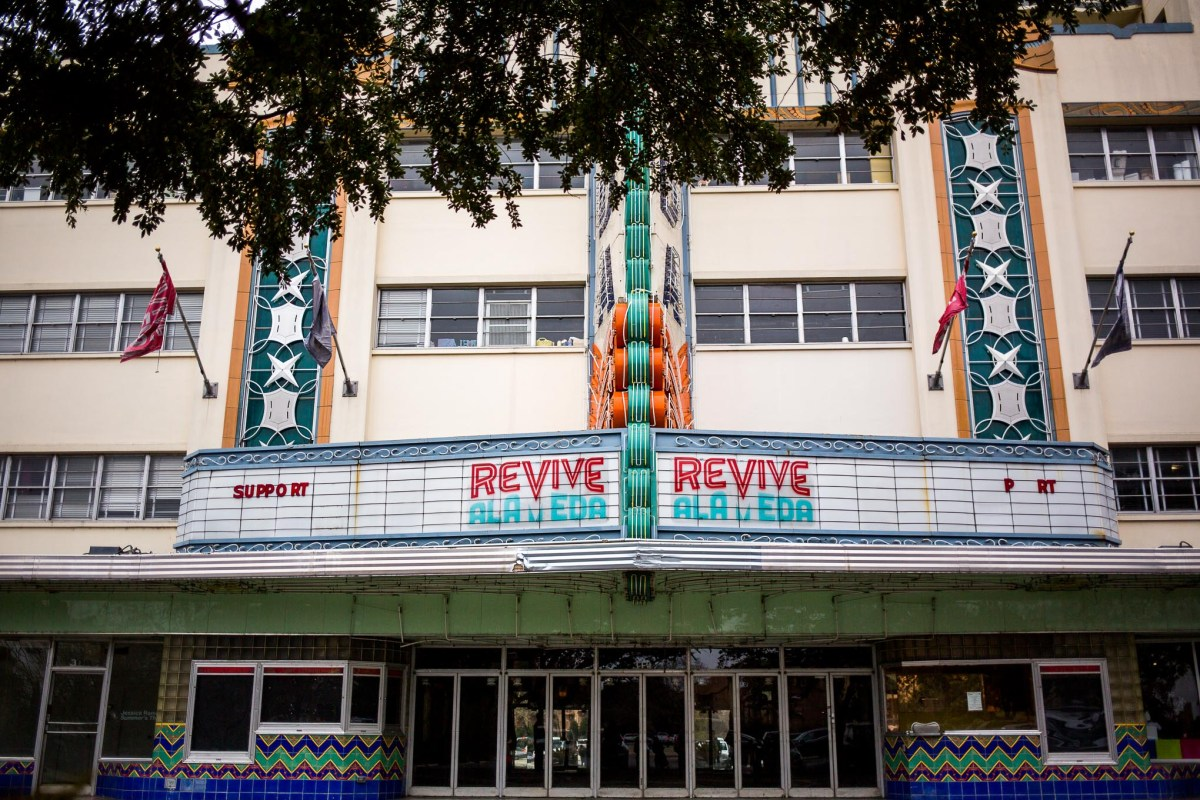 A partnership among the City of San Antonio, Bexar County, and Texas Public Radio is in the works that would involve rehabilitating the Alameda Theater.