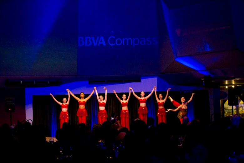 Dancers from the San Antonio Children's Ballet perform at the Texas Star Heritage Award and Gala.