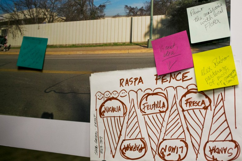 A collection of ideas collected during the community meeting about the World Heritage Public Art Project.