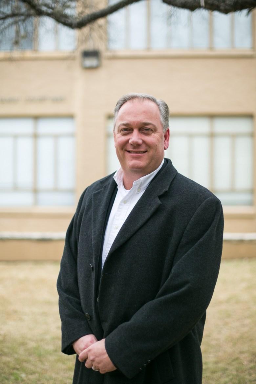 Newly appointed San Antonio Academy Head of School Clint DuBose.