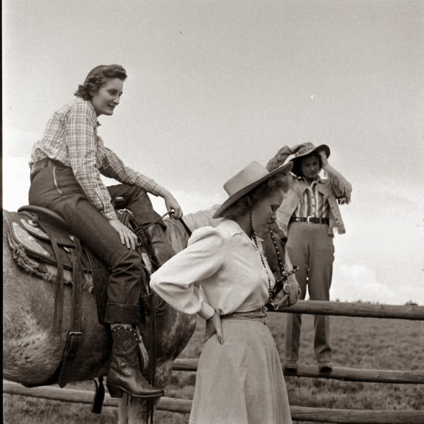 The Texas Woman, Her Heritage In Song. Photo courtesy of Briscoe Western Art Museum