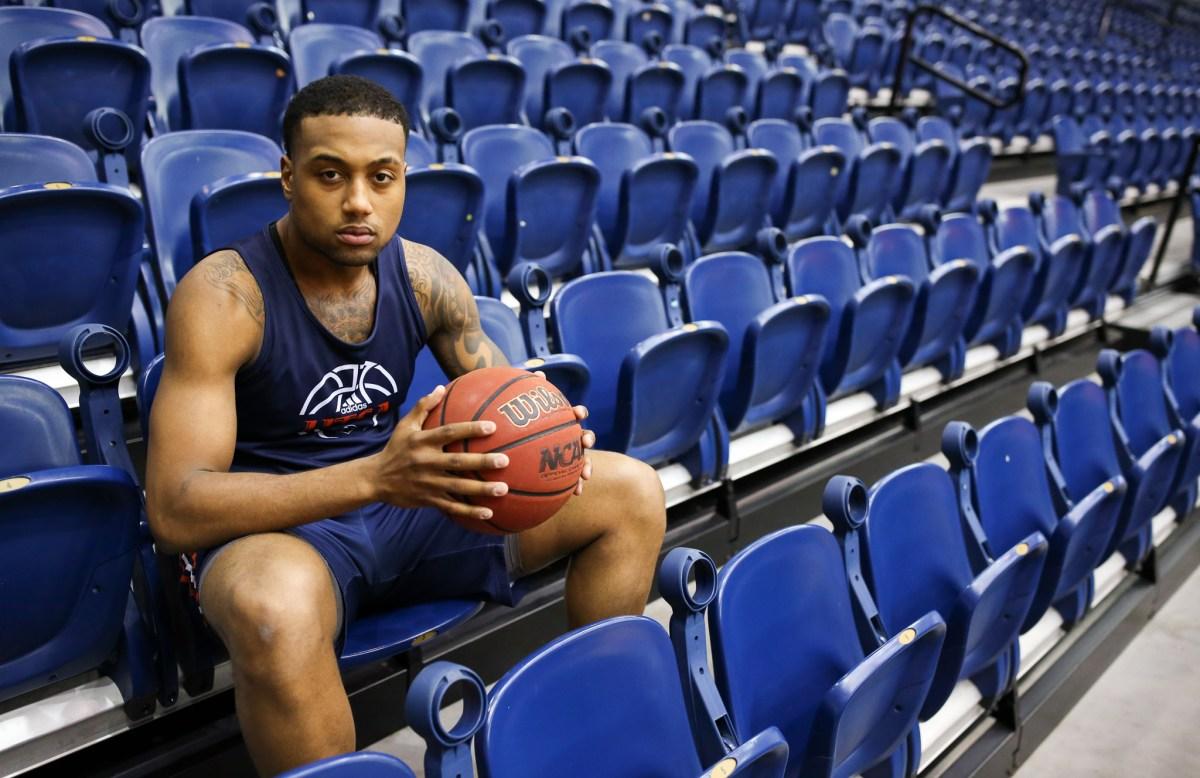 Jeff Beverly is the leading scorer on the UTSA basketball team.