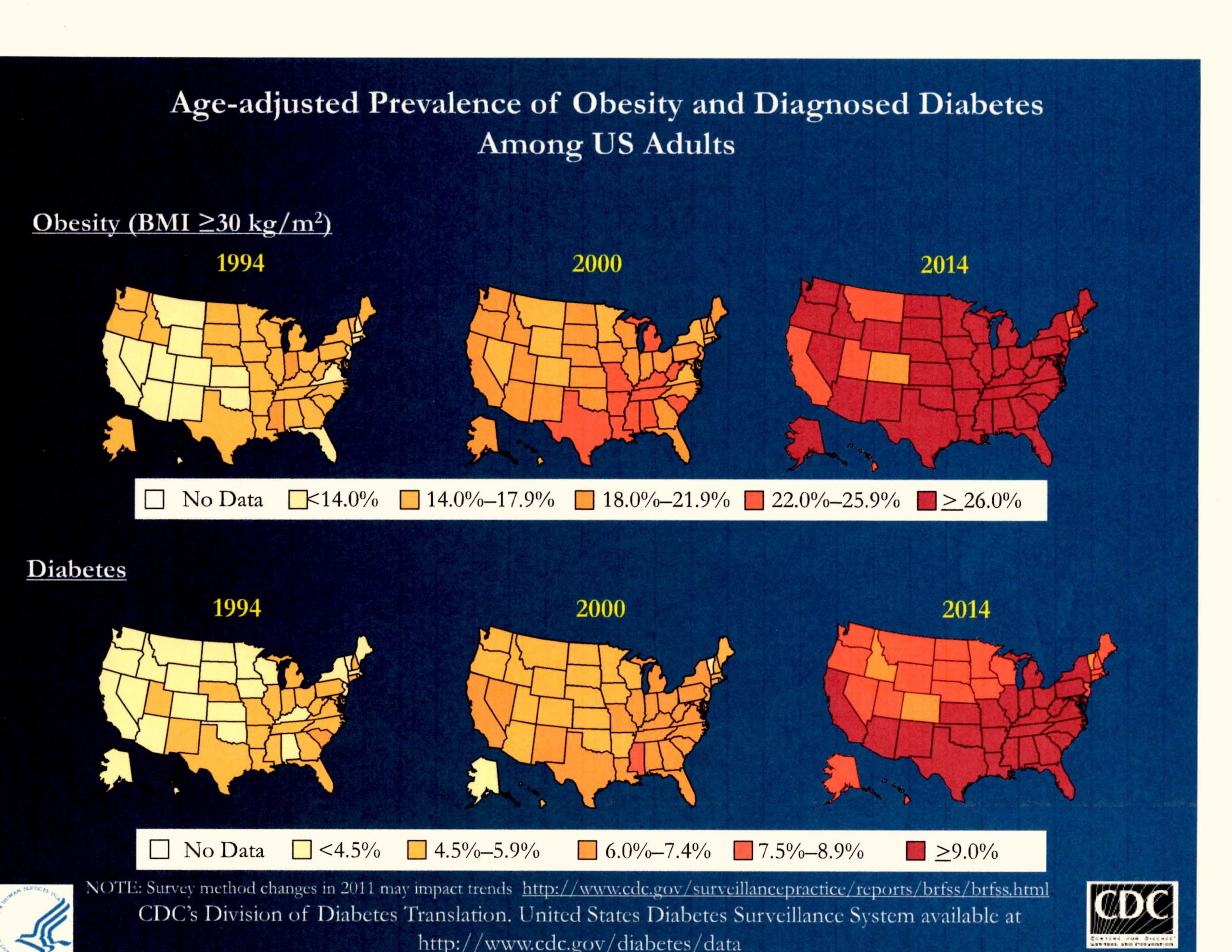 CDC map obesity and diabetes