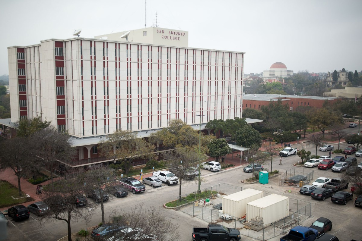 The Moody Learning Center at San Antonio College.