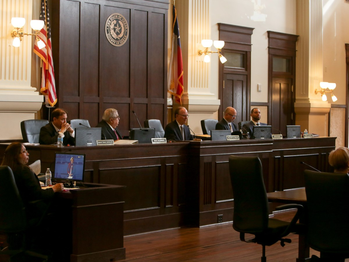 The Bexar County Commissioners Court on Tuesday, February 7th.