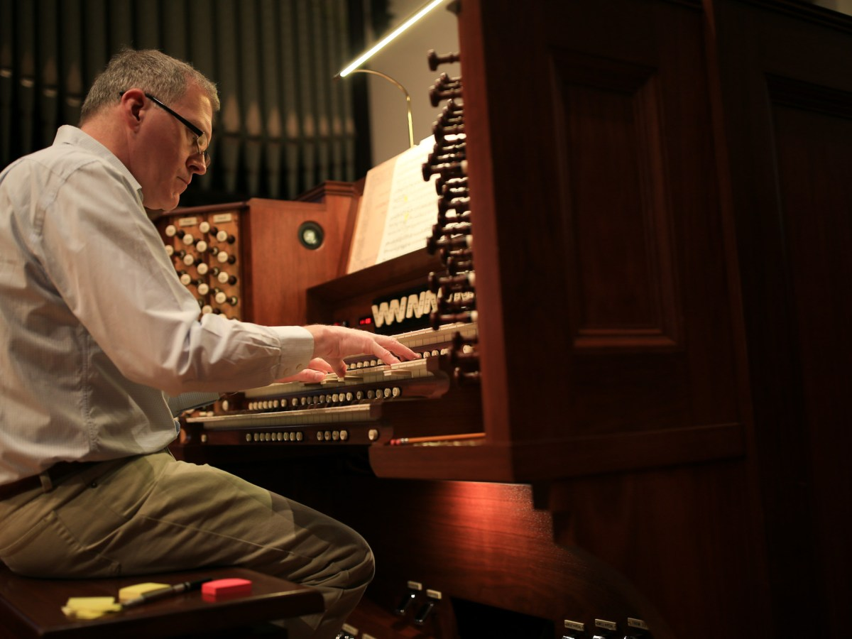 London's Westminster Abbey Organist James O'Donnell.