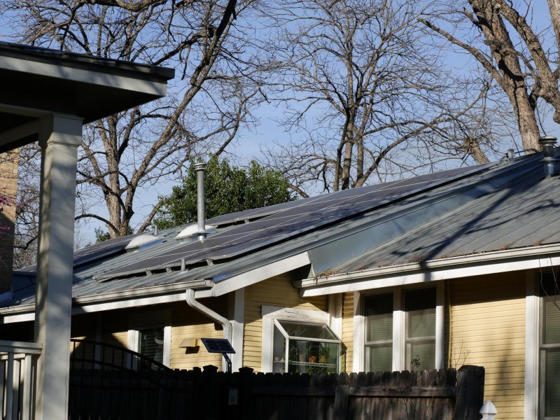 Cathy Leary's house scored a 28/100 on the SunSmart Tool, a number she discovered after installing solar on her roof.