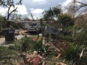 Homes, businesses, and cars were damaged during the storm.