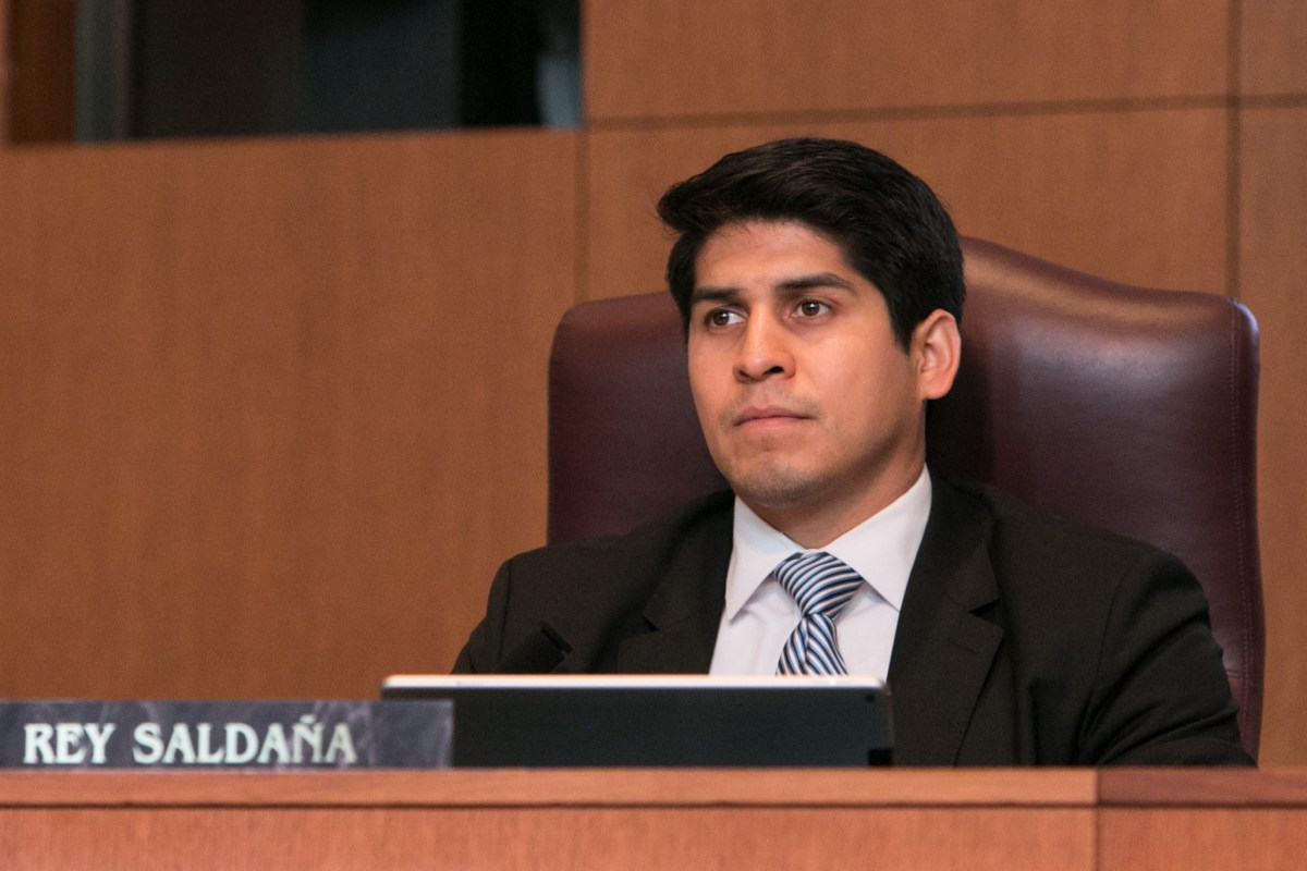 Councilman Rey Saldaña (D4) says city residents who are immigrants need legal help.